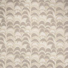 Platinum Geometric Drapery and Upholstery Fabric by S. Harris