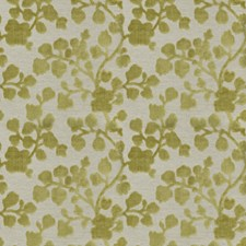 Peridot Floral Drapery and Upholstery Fabric by Trend
