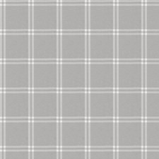 Grey Check Drapery and Upholstery Fabric by Trend