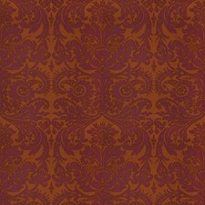 Vermillion Print Pattern Drapery and Upholstery Fabric by Vervain
