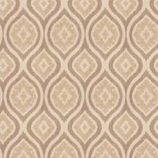 Ecru Diamond Drapery and Upholstery Fabric by Trend