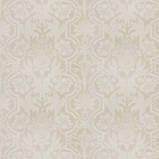 Parchment Floral Drapery and Upholstery Fabric by Vervain