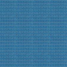 Lapis Print Pattern Drapery and Upholstery Fabric by Vervain