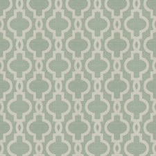 Aqua Lattice Drapery and Upholstery Fabric by Trend