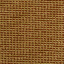 Gold/red Drapery and Upholstery Fabric by Duralee