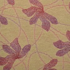 Pink Leaf Drapery and Upholstery Fabric by Duralee