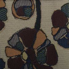 Jewel Floral Large Drapery and Upholstery Fabric by Duralee