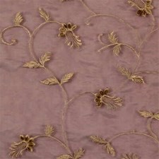 Burgundy/Red/Yellow Botanical Drapery and Upholstery Fabric by Kravet