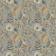 Heritage Floral Drapery and Upholstery Fabric by Fabricut