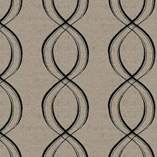 Grey/Black Modern Drapery and Upholstery Fabric by Kravet