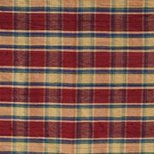 Azalea Plaid Drapery and Upholstery Fabric by Lee Jofa