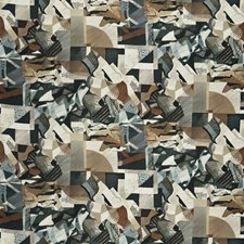 New Onyx Geometric Drapery and Upholstery Fabric by S. Harris