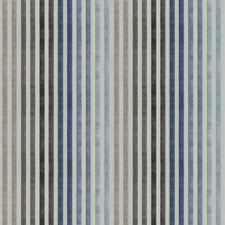Arctic Blue Stripes Drapery and Upholstery Fabric by Vervain