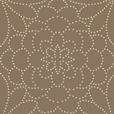 Brown/Beige Dots Drapery and Upholstery Fabric by Kravet