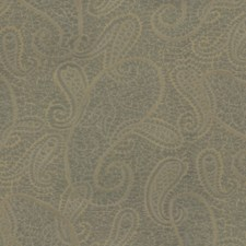 Blue/Green/Yellow Paisley Drapery and Upholstery Fabric by Kravet