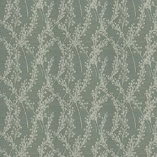 Seamist Floral Drapery and Upholstery Fabric by Trend