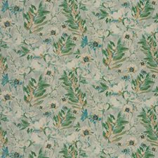 Seaglass Floral Drapery and Upholstery Fabric by Fabricut