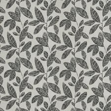 Jet Leaves Drapery and Upholstery Fabric by Fabricut