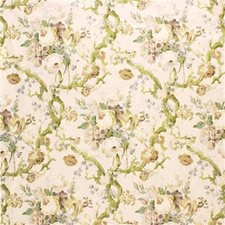 Ecru Print Drapery and Upholstery Fabric by Lee Jofa