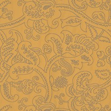 Goldenrod Drapery and Upholstery Fabric by RM Coco