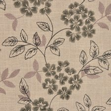 Cindersmoke Drapery and Upholstery Fabric by RM Coco