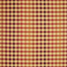 Tuscan Sun Plaid Check Drapery and Upholstery Fabric by Greenhouse