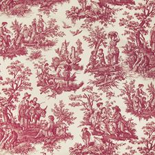 Garnet Toile Drapery and Upholstery Fabric by Greenhouse