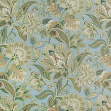 Celestial Paisley Drapery and Upholstery Fabric by Greenhouse