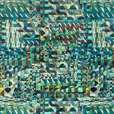Green Landscape Drapery and Upholstery Fabric by Scalamandre