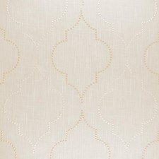 White/Champagne Drapery and Upholstery Fabric by RM Coco