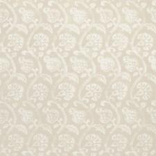 Linen Botanical Drapery and Upholstery Fabric by Kravet