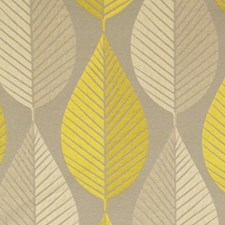 Citrine Drapery and Upholstery Fabric by RM Coco