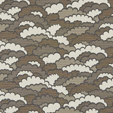 Blue/Brown Transitional Drapery and Upholstery Fabric by JF