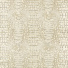 Ivory/Beige Animal Skins Drapery and Upholstery Fabric by Kravet