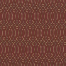 Ming Red Drapery and Upholstery Fabric by Kasmir