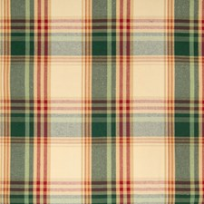Garden Plaid Check Drapery and Upholstery Fabric by Greenhouse