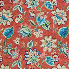 Gem Floral Drapery and Upholstery Fabric by Greenhouse