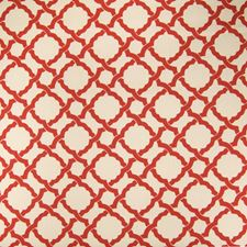 Berry Geometric Drapery and Upholstery Fabric by Greenhouse