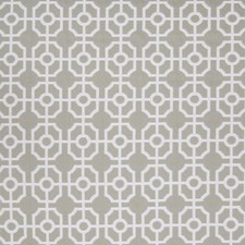 Platinum Geometric Drapery and Upholstery Fabric by Greenhouse