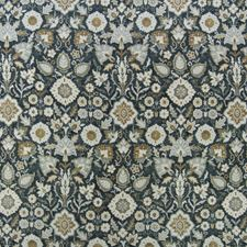 Noir Medallion Drapery and Upholstery Fabric by Greenhouse