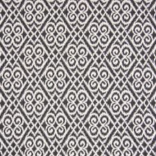 Onyx Ikat Drapery and Upholstery Fabric by Greenhouse