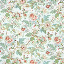 Jasmine Floral Drapery and Upholstery Fabric by Greenhouse