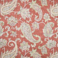 Ruby Scroll Drapery and Upholstery Fabric by Greenhouse