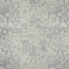 Cement Medallion Drapery and Upholstery Fabric by Greenhouse