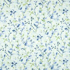 Rainwater Floral Drapery and Upholstery Fabric by Greenhouse