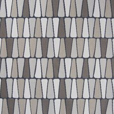 Driftwood Geometric Drapery and Upholstery Fabric by Greenhouse