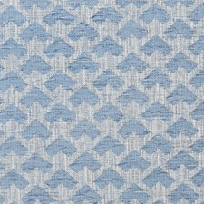 Waterfall Geometric Drapery and Upholstery Fabric by Greenhouse
