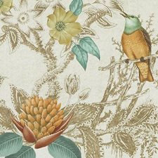 Terra/sage Drapery and Upholstery Fabric by Duralee