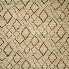 Teak Ethnic Drapery and Upholstery Fabric by Pindler