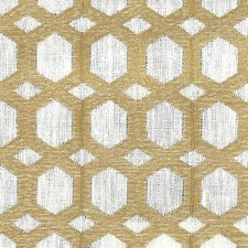 Gold Drapery and Upholstery Fabric by Stout